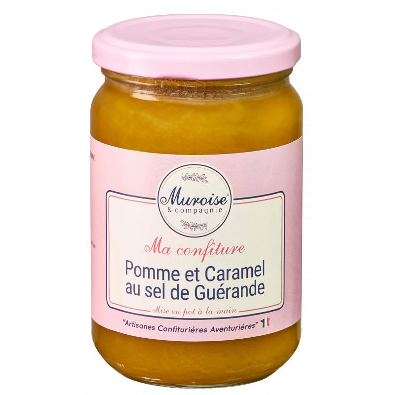 Confiture de pommes et caramel au sel de Guérande