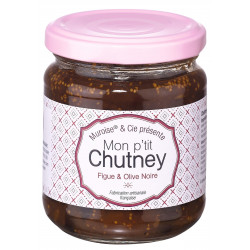 Chutney figue et olive (2)