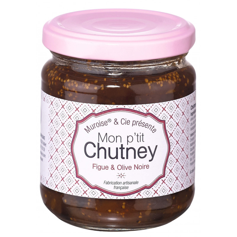 Chutney figue et olive