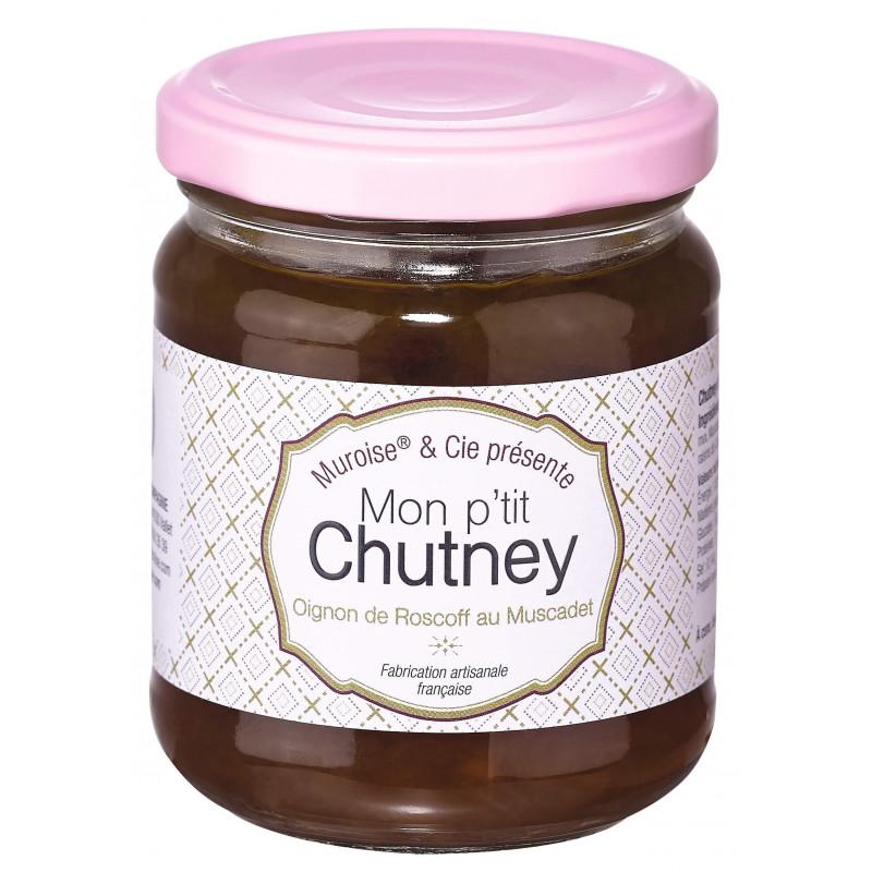 Chutney oignons de Roscoff au Muscadet