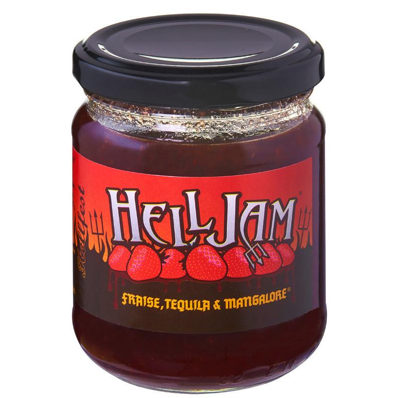 Helljam fraise, confiture diabolique