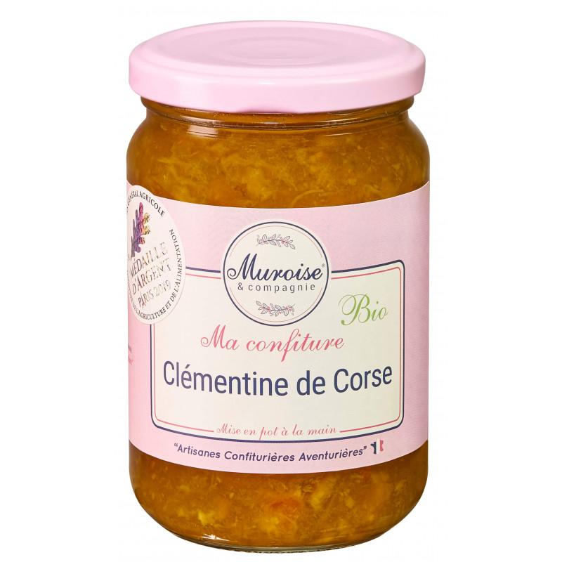 Confiture de clémentine Corse bio