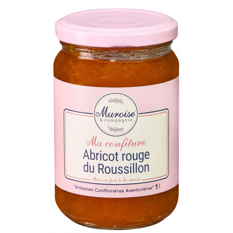 Confiture d'abricot rouge du Roussillon